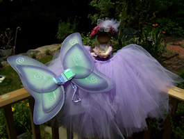 Purple Fairy Godmother Costume