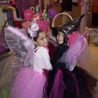 Fairy & Scary Godmother costumes